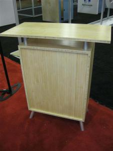 eSmart ECO-2C Counter Constructed from Bamboo with Lockable Storage -- Image 3