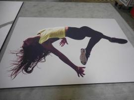 (2) Wall-mounted Silicone Edge Fabric Graphics (non-backlit) and Frames -- Image 2