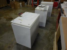 Custom LTK-1121 Pedestals with Shelf and Locking Door -- Image 2