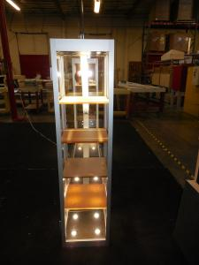Custom Retail Fixture with LED Lights and Showcases -- Image 2
