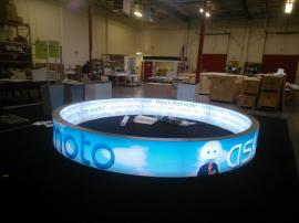 Custom Hanging Sign with SuperNova LED Lights and Double-sided SEG Graphics. For Permanent Retail Installation -- Image 2