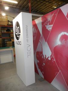 Custom Hybrid Inline Exhibit with Fabric and Direct Print Graphics -- Image 3