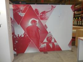 Custom Hybrid Inline Exhibit with Fabric and Direct Print Graphics -- Image 4