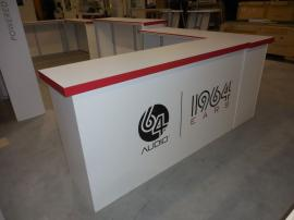 Custom Hybrid Inline Exhibit with Fabric and Direct Print Graphics -- Image 5