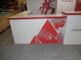 Custom Hybrid Inline Exhibit with Fabric and Direct Print Graphics -- Image 6