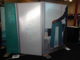 Freestanding Gravitee Retail Dividers with Double-sided SEG Graphics and Adjustable Hinges -- Image 4
