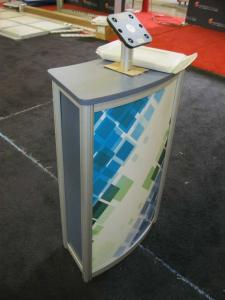 Small eSmart Trade Show Pedestal