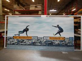 Lightweight SEG Fabric Graphics on Wall-mounted Frames