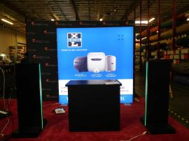 SuperNova LED Lightbox with (2) Product Towers