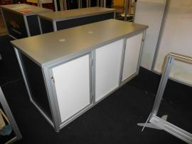 "Custom Modular Counter with Locking Storage (70"" x 30"" x 36"")"