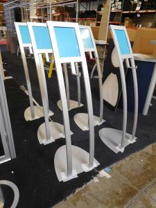 Custom Umbrella Display Stands with Signage Holder