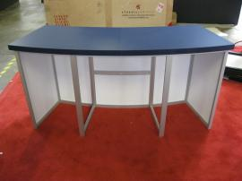 eSmart Custom Counter with Aluminum Extrusion Frame, Laminate Counter Top, and EcoBoard Graphics -- Image 4
