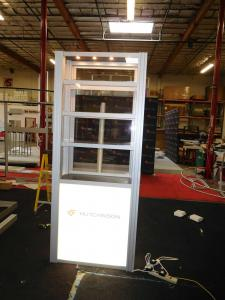 RE-500 Display Cases with Lights, Shelves, and Locking Doors