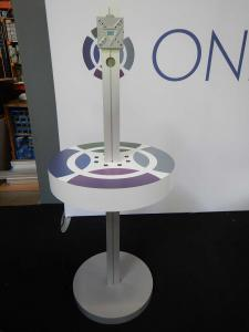 RENTAL: RE-706 Charging Station Monitor Stand with Graphics