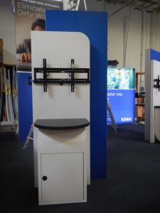 RENTAL:  Custom Kiosks with Locking Doors and Large Monitor Mounts