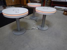 RENTAL: (3) RE-704 Charging Stations with (RGB) LED Perimeter Accent Lighting