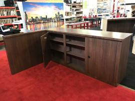 Custom Wood Cabinets for a Retail Application