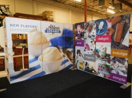 Gravitee Modular Frames and Large Format Fabric Graphics