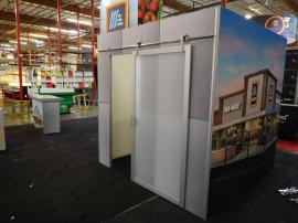 Modified GK-5153 Gravitee Island Exhibit with Conference Room with Sliding Door