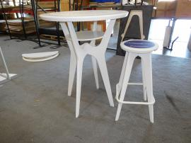 OTM Portable Table and Stool with Graphics