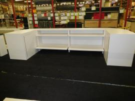 Custom Wood Fabrication Counters and Product Demo Stations