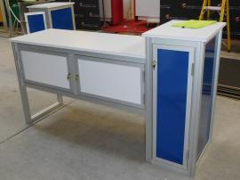 Custom Podium with Storage
