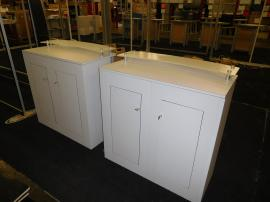 (2) ECO-31C Counters with Locking Storage