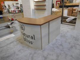 Custom Modular Laminate L-shaped Counter