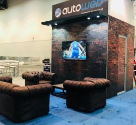 RENTAL: Custom 20 x 40 Island Exhibit