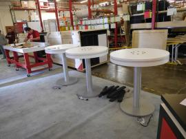 (3) MOD-1432 Charging Bistro Tables