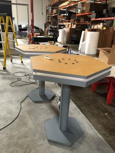 (2) MOD-1450 Charging Tables