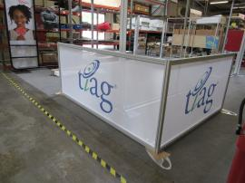 ecoSmart Custom Sidewall with SEG Scrim Fabric and Engineered Aluminum Extrusion
