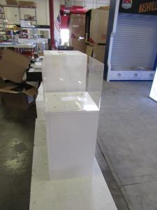 Custom Product Display Cases with Acrylic Tops
