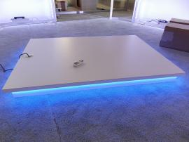 Custom Product Podium with LED RGB Lighting