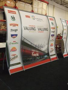 Custom Perfect 10 Portable Hybrid Displays with Tension Fabric Graphics -- Image 2