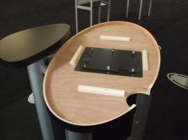 MOD-1184 Modular Pedestal with MOD-211 iPad Insert Option -- Image 5