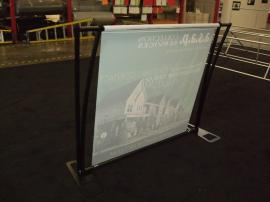 TF-402 Aero Table Top Display with Tension Fabric Graphics -- Image 2