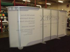 Custom SEGUE 10 x 20 Curved Frame with Silicone Edge Graphics -- Image 2