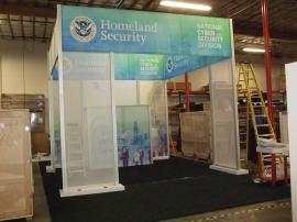 Custom Visionary Designs Island Exhibit with a 10 x 20 Inline Re-configuration -- Image 1