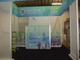 Custom Visionary Designs Island Exhibit with a 10 x 20 Inline Re-configuration -- Image 2