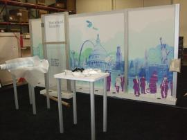 Custom Visionary Designs Island Exhibit with a 10 x 20 Inline Re-configuration -- Image 4