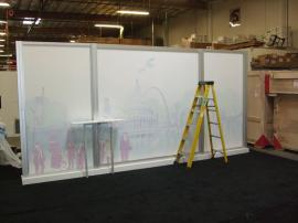 Custom Visionary Designs Island Exhibit with a 10 x 20 Inline Re-configuration -- Image 5