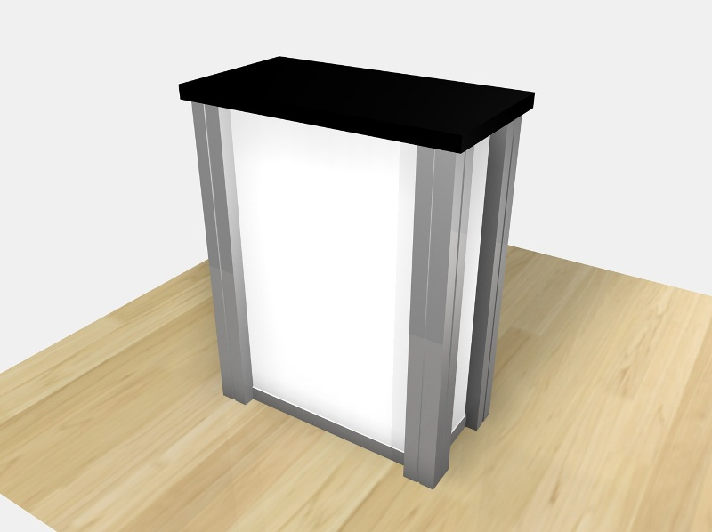 Display Search Reo 1227 Small Rectangular Counter