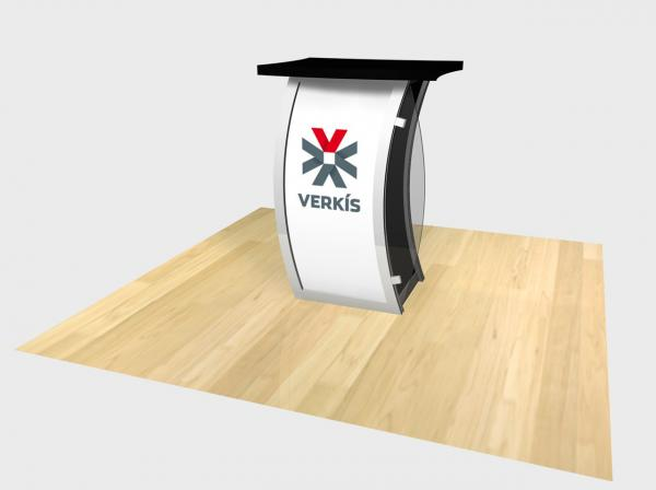 RE-1209 Trade Show Pedestal -- Image 3