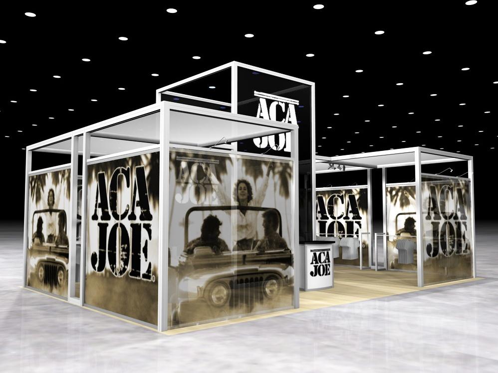 Exhibition Booth Hire : Display search reo aca joe island rental