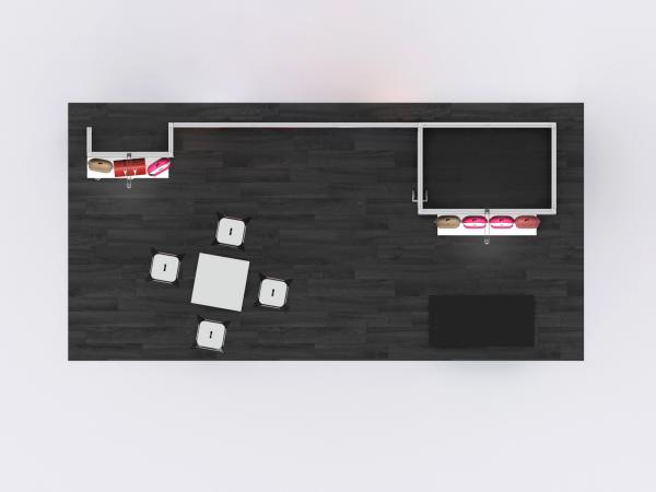 GK-2022 -- Gravitee Modular Inline Exhibit -- Plan View